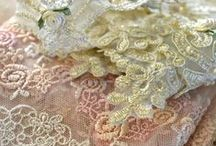 """Lace Love Affair / I am a lace-a-holic.  I adore doilies and vintage lace.  Lace just makes everything so romantic and pretty!  When my son was a teenager, he said,  """"Mom!  I counted 60 doilies in our house!  60!!""""  I raised two sons in a very feminine home.  Poor boys.  LOL.  Hey... LOL could mean 'Lover of Lace'!"""