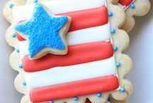 Red, White, and Blue / by The Party Wagon