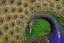 Mosaic and tile / by Carrie Alyse