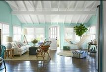 Aqua and White / There is nothing like the combination of aqua and white to help one feel the ocean breeze and catch a whiff of salty air.