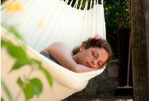 Des hamacs pour toute la famille ! / Envie de dormir comme un bébé ? Adoptez le hamac ! Sur Camif.fr il y en a pour tous les âges et tous les usages ! > http://bit.ly/1gZo6zY