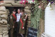 The Goodwood Revival / Military uniforms for hire. Perfect to wear to all occasions such as The Goodwood Revival, 1940s parties and events, theatrical production, Murder Mystery parties and lots more other occasions where you need to wear a military uniform. We have a selection of British uniforms both ladies and men all in perfect condition.
