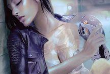 Bladerunner girl