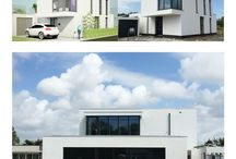 Zelfbouw woningen in Erasmushove Den Haag / Ontwerpen van energieneutrale woningen op zelfbouw kavels op locatie Den Haag.