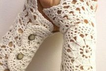 Crochet: clothes, slippers, shawl, patterns....