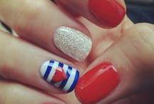 Nails / mani and pedis / by Monica Kelley