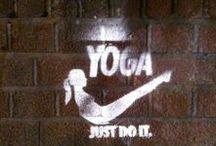 Yoga  ॐ / An ounce of practice is worth tons of preaching   Une once de pratique vaut mieux que des tonnes de discours