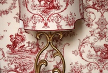 FABRIC and WALLPAPER Toile de Jouy / by Cathy La Petite Duchesse