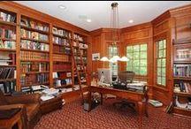 Dens & Libraries & Studies...Oh My!