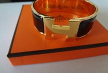 HERMES jewels and more / jewels, enamel bangles, watches and more ... / by Cathy La Petite Duchesse