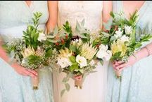 Protea Wedding Bouquets & Centrepieces / South Africa's beautiful national flower - kings, queens, pincushions, blushing brides... we love them all!