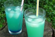Cheers! / Be sure to try these delicious drink recipes when relaxing around the pool!