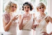 Gatsby Wedding Inspiration / 1920s inspired wedding design