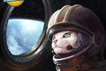 Sci-fi artwork / by Lars Occhionero