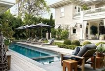 Celebrity Pools / Who wouldn't love to swim in one of these alluring celebrity pools?