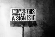 Signs..