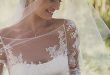 Illusion Lace Wedding Dresses / by SouthBound Bride