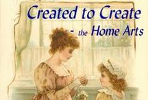 Created to Create / We were created to be creative! Home Arts for Creative Christian Women by Creative Christian Women. In the spirit of Pro. 31 and Titus 2, we share home arts, which includes fabric arts, yarn arts, paper arts, food arts (just creative techniques and presentation, not recipes,) decorating, and other creative arts to beautify our homes and bless our family and friends. Get some inspiration from our home-y, real to life pics to create home arts for your own home and family!
