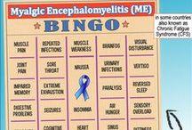 ME/CFS: Awareness Images (ME/CFS = Myalgic Encephalomyelitis / Chronic Fatigue Syndrome) / Note: I have lots of other boards on ME/CFS (Myalgic Encephalomyelitis / Chronic Fatigue Syndrome).