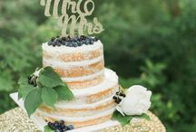 Naked & Semi-naked Wedding Cakes / Beautiful #naked & #seminaked #wedding #cakes for all kinds of weddings