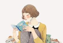 { book love } / Books to read, books I've read, cover art, fan art, and other book-related things.
