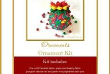 Quilted Keepsake Ornaments / Miss Joy's Ornaments-Bringing Handmade Joy to Your Holidays / by Miss Joys Ornaments