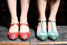 s h o e s / Shoes of all sorts, including the sort that are too pretty to be worn on actual ground.