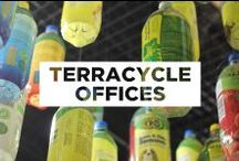 TerraCycle Offices / Welcome to our office made of amazing upcycled materials! Here we work to make TerraCycle the best it can be!