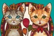 Cats / by Annie Scharich