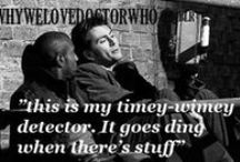 { don't blink } / Doctor Who!