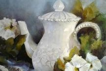 Art ~ Still Life / Some paintings to be moved / by Carol ~