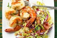 Food: Seafood / So good for you.