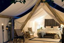 Travel: Camping / My idea of camping is a Hilton