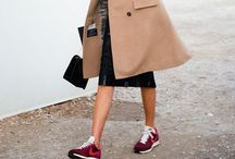how to//sneakers + tennis shoes / STREET STYLE / by jessie.