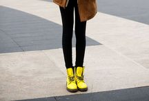 how to//dr. martens / STREET STYLE / by jessie.
