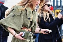 how to//olive + army green / STREET STYLE / by jessie.