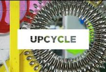 Upcycle / What do you do when you think something is headed for the trash? Upcycle it!