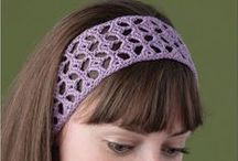 Crochet - Accessories / Crocheted accessory ideas and patterns, including, hats, gloves, scarves, socks, bags, hair accessories, etc. / by Amanda Haggerty