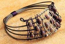 Wirework - Jewelry / Wirework jewelry ideas and patterns / by Amanda Haggerty