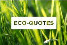 Eco Quotes / Quotes and sayings about Mother Earth.
