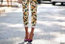 how to//statement trousers + patterned pants / STREET STYLE / by jessie.