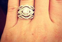 My engagement ring! / Wedding rings