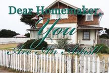 Homemaking / Great homemaking ideas for everyone.