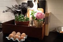 Home: Kitchen Klutter / Fun Storage