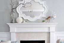 Home: Mantel Scapes / Indoor and Outdoor to decorate.