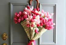 Home: Front Door Wreaths / Welcoming Door
