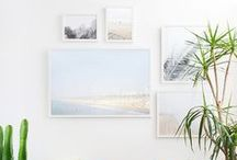 Wall Collections / Wall portrait examples for clients. Framed art pieces, gallery walls.