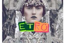 Etro / Etro is an Italian luxury house that designs ready‑to‑wear, shoes and accessories. Founded in 1968 by Gimmo Etro, it remains a family business to this day.  / by Lauren Fisch