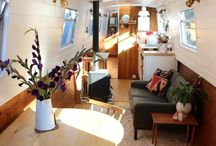 Dream Boat / inspiration for my ideal home - a narrowboat