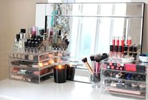 For My Girls: Make-Up Storage / Make-Up Clutter Clean-Up
